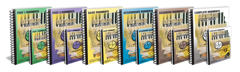 Music Theory Workbooks and Answer Books